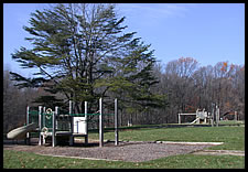 playground by Pine Bluff Shelter
