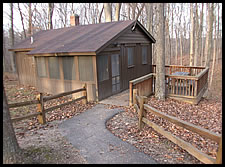 Cabins - McCormick's Creek State Park, Indiana